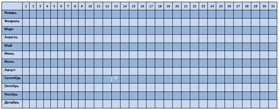 женский календарь скачать